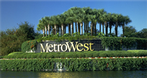 Metro West Entry Feature